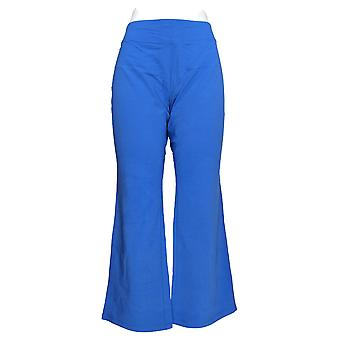 Mujeres's Petite Active Duo-Stretch Pantalones Azul A261852