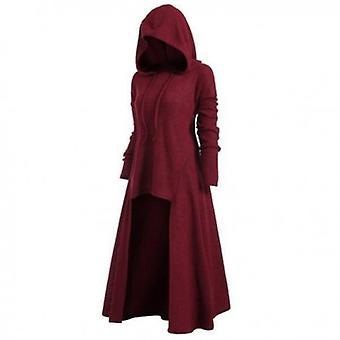 عارضة طويلة الأكمام المرأة Assymetrical اللباس