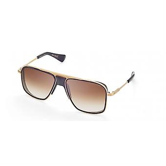 DITA Initiator DTS116 02 Gold-Black Iron/Dark Brown Gradient Sunglasses