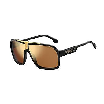 Carrera 1014/S I46/K1 Black-Gold/Gold Mirror Sunglasses
