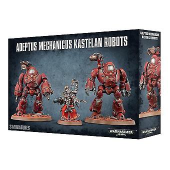 Adeptus Mechanicus Kastelan Robots, Warhammer 40,000, 40k, Games Workshop