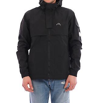 En kall vägg Acwmo001whlblak Men's Black Nylon Outerwear Jacket