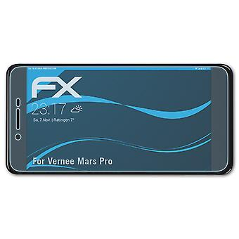 atFoliX 3x Protective Film compatible with Vernee Mars Pro Screen Protector clear&flexible