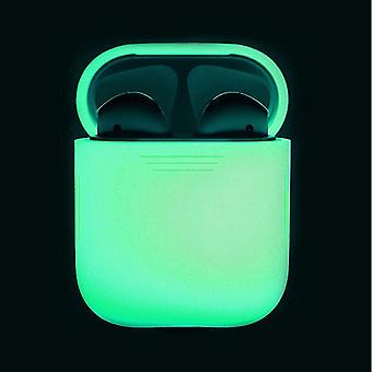 Glow In The Dark Earphone Case Silicone Protective Carrying Box - Skin Sleeve Pouch Box For Apple Airpods