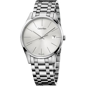 Calvin Klein K4N23146 Time Quartz Silver Dial Ladies Watch