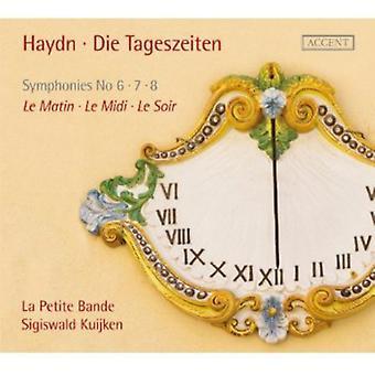 J. Haydn - Haydn: Die Tageszeiten [CD] USA tuonti