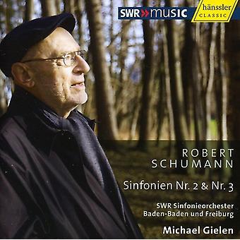 R. Schumann - Robert Schumann: Sinfonien Nr. 2 & 3 [CD] USA import