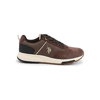 U.S. Polo Assn. - Schoenen - Sneakers - AXEL4120W9_SY1_BRW - Mannen - zadelbruin - EU 41