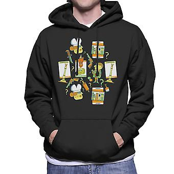 Hasbro Cluedo Character Icon Montage Men's Hooded Sweatshirt
