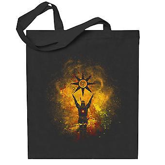 Elogia el Sol Arte Solaire de Astora Dark Souls Totebag