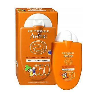 انعكاس للطاقة الشمسية للأطفال والرضع SPF 50 + 30 مل من كريم