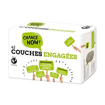 T4 + Engaged Diapers (9-20kg) 42 units