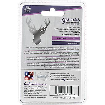 Gemini Foilpress Stamp Die Elements-Stag Head