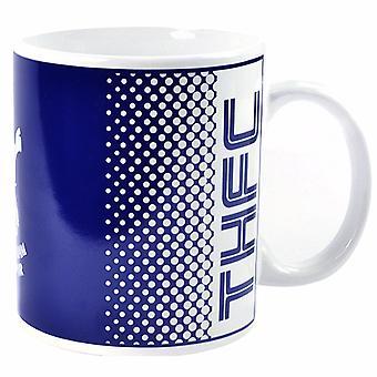 Tottenham Hotspur FC Official Fade Crest Design Ceramic Mug