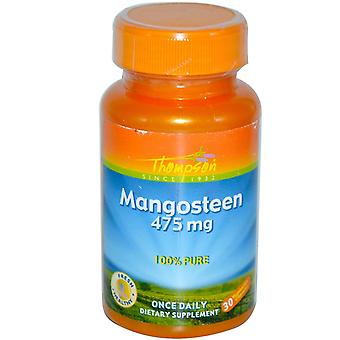 Thompson, Mangosteen, 475 mg, 30 Vegetarian Capsules