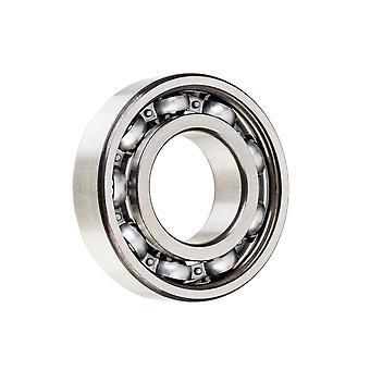 NSK 6204単一列深い溝のボール軸受け放射状の鋼鉄かごは20x47x14mm開く
