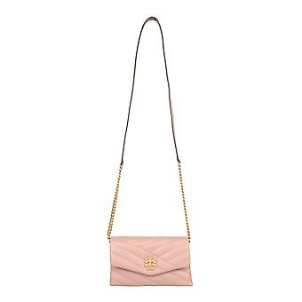 Tory Burch 64068958 Women's Pink Leather Shoulder Bag