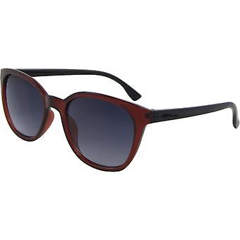 Solglasögon Unisex Fjäril Kat. 3 svart/grå (Basic 200-B)