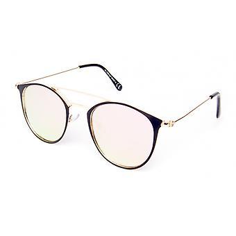 Solglasögon Unisex Cat.3 svart/guld (19-178)