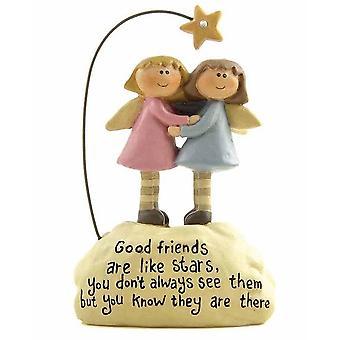 Heaven Sends Good Friends Ornament