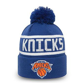 New Era Bommel Wintermütze Beanie - New York Knicks royal
