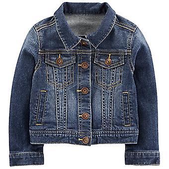 Simple Joys by Carter's Baby Girls' Toddler Denim Jacket, Medium Wash, 3T