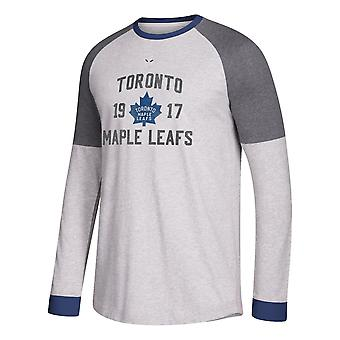 Adidas Nhl Toronto Maple Leafs Langarm Crew T-Shirt