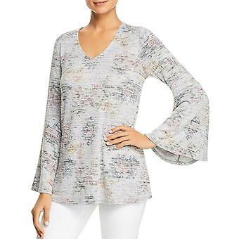 Cupio Blush | Bell Sleeve Floral Top