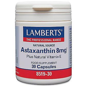 Lamberts Astaxanthin 8mg Caps 30 (8519-30)