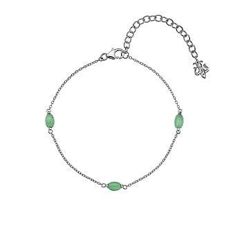 Anais Hot Diamonds Anais March Green Aventurine Bracelet AB003