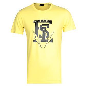 Diesel T-Diego Maglietta Yellow T-Shirt