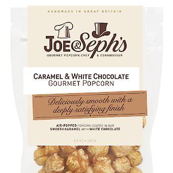 Karamell & weiße Schokolade Popcorn