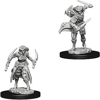 Dungeons & Dragons Nolzur&s Marvelous Unpainted Miniatures - Tiefling Female Rogue