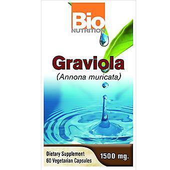 Bio Nutrition Inc Graviola, 1500 mg, 60 Veg Caps