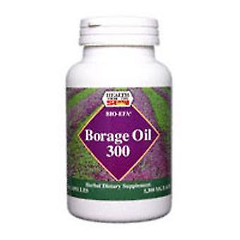 Health From The Sun Borage Oil GLA Bio-EFA, 300 MG, 30 Soft Gels