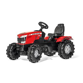 Rolly toys massey ferguson 8650 tractor for 3 - 8 years old - red