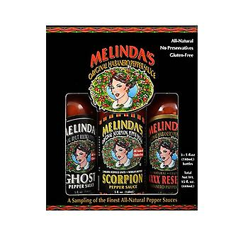Melinda's Extreme Fiery Collection Hot Sauce Variety Pack