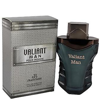 Valiant man eau de toilette spray by jean rish 540899 100 ml