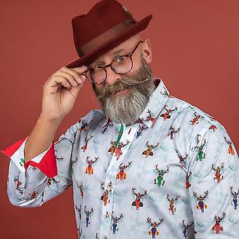 CLAUDIO LUGLI The Holiday Reindeer Print