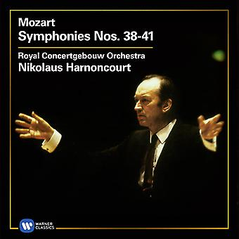Mozart / Royal Concertgebouw Orch / Harnoncourt - Symphonies 38-41 [CD] USA import