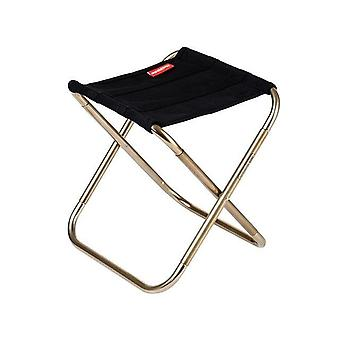 Outdoor Compact Folding Aluminum Chair Camping Stool Seat Foldable Fishing