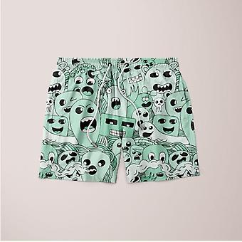 Ghost pattern shorts