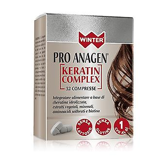 Pro anagen forte keratin complex 32 tablets