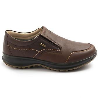 Zapato Slip On Hombres Grisport Activo 8615 Gritex Brown