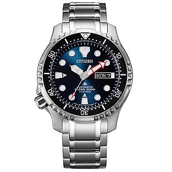 Mens Watch Citizen NY0100-50ME, Automatisch, 42mm, 20ATM