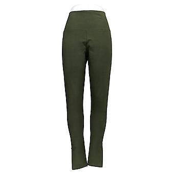 Kvinder med Kontrol Leggings Tummy Control Pull På Grøn A366540