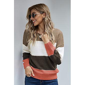 Color Block Winter Sweater