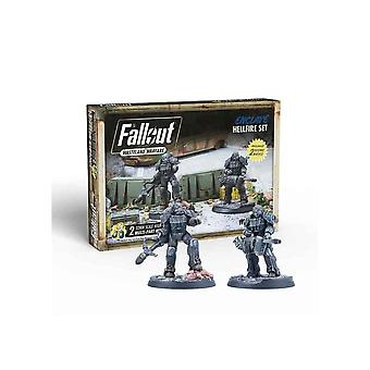 Fallout Wasteland Warfare Enclave Hellfire Set