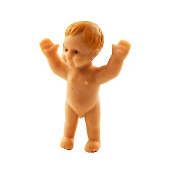 Dolls House Baby Boy Standing With Arms Up Miniature People