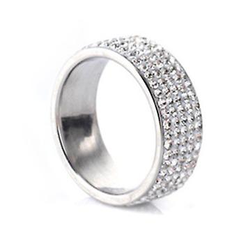 Vrouwen Fashion Cz Alloy Steel Engagement Ring